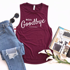 Tank Top Mockup -Bella + Canvas - Women's Flowy Muscle Tank - 8803 Maroon - Apparel Photography 5