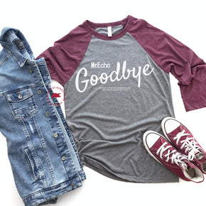 Raglan Shirt Mockup - Bella + Canvas - Three-Quarter Sleeve Baseball Tee - 3200 - Outfit Flat lay - Apparel Photography 3
