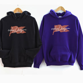 Couple Hoodie mockup - Gildan mockup - 18500 mockup - Black - purple -  hoodie mockup - flat lay - photography190