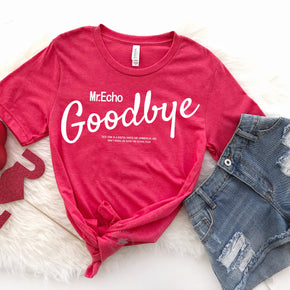 Valentine Shirt Mockup - Bella Canvas 3001 -  Heather Red - T-Shirt Mockup - Apparel Photography - Flat lay