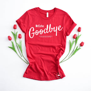 Valentine Shirt Mockup - Bella Canvas 3001 -  Red - T-Shirt Mockup - Apparel Photography - Flat lay 1