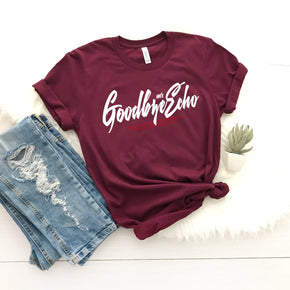 Shirt Mockup - Bella Canvas 3001 -  Maroon - T-Shirt Mockup - Apparel Photography - Flat lay