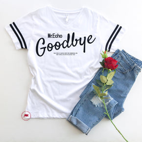 Valentine Shirt mockup - LAT - Women's Football V-Neck Fine Jersey Tee - 3537 flat lay - photography 2