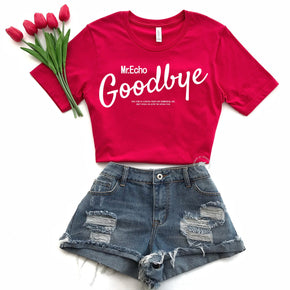 Valentine Shirt Mockup - Bella Canvas 3001 -  Red - T-Shirt Mockup - Apparel Photography - Flat lay 10