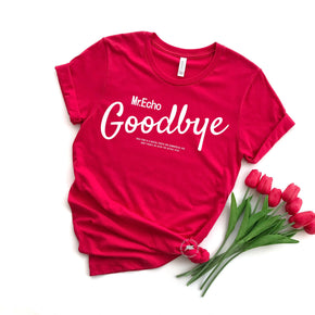 Valentine Shirt Mockup - Bella Canvas 3001 -  Red - T-Shirt Mockup - Apparel Photography - Flat lay 8