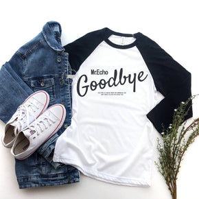 Raglan Shirt Mockup - Bella + Canvas - Three-Quarter Sleeve Baseball Tee - 3200 - Outfit Flat lay - Apparel Photography 2