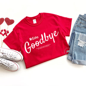 Valentine Shirt Mockup -Gildan - 5000 Red - Valentine  flat lay - photography