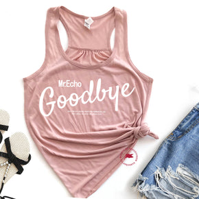 Tank Top Mockup -Bella + Canvas - Women's Flowy Racerback Tank - 8800 Peach - Apparel Photography 8