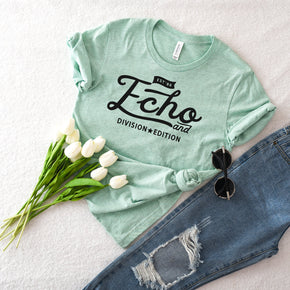 Shirt Mockup  - Bella Canvas 3001 T-Shirt -  prism Mint  - Outfit Flat lay - Apparel Photography #0624
