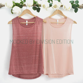 Bachelorette Tank Mockup  - Bella Canvas 8803 tank top - Outfit Flat lay - Apparel Photography130