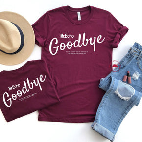Front & Back Shirt Mockup - Bella Canvas 3001 -  Maroon - T-Shirt Mockup - Apparel Photography - Flat lay