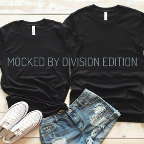 Couple Shirt Mockup  - Bella Canvas 3001 Shirt - Black -  Outfit Flat lay - Apparel Photography #0270