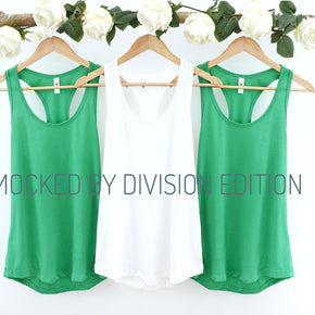 Couple Mockup  - Next level 1533  Irish Green Tank top Mockup- Outfit Flat lay - Apparel Photography216