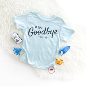 Shirt Mockup - Bella Canvas 3413T Ice Blue Tri toddler T-Shirt Mockup - Apparel Photography - Flat lay