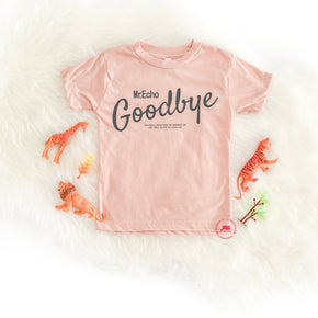 Shirt Mockup - Bella Canvas 3413T Peach Tri toddler T-Shirt Mockup - Apparel Photography - Flat lay 3