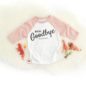 Raglan Mockup - Bella + Canvas - Toddler Three-Quarter Sleeve Baseball Tee - 3200T - Outfit Flat lay - Apparel Photography