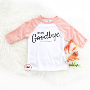 Raglan Mockup - Bella + Canvas - Toddler Three-Quarter Sleeve Baseball Tee - 3200T - Outfit Flat lay - Apparel Photography 1