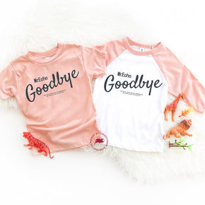 Couple Shirt Mockup - Bella Canvas 3413T Peach Tri toddler-Three-Quarter Sleeve Baseball Tee - 3200T- Apparel Photography - Flat lay
