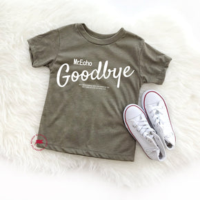 Shirt Mockup - Bella Canvas 3413T Olive Tri toddler T-Shirt Mockup - Apparel Photography - Flat lay 1