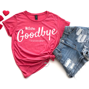 Valentine Shirt Mockup - Anvil 880 Heather Red - Valentine flat lay - photography