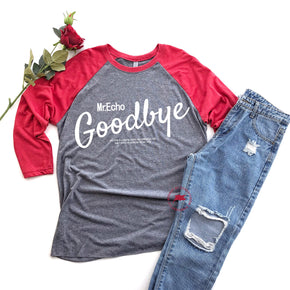 Valentine Raglan Shirt Mockup - Next Level - Unisex  Baseball Raglan Tee - 6051 - Outfit Flat lay - Apparel Photography 1
