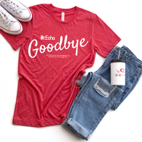 Shirt Mockup - Bella Canvas 3413 Red Tri T-Shirt Mockup - Apparel Photography - Flat lay