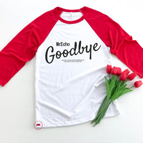 Valentine Raglan Shirt Mockup - Bella + Canvas - Three-Quarter Sleeve Baseball Tee - 3200 - Outfit Flat lay - Apparel Photography 7