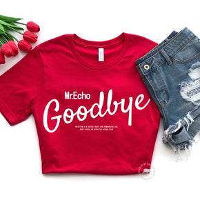 Valentine Shirt Mockup - Bella Canvas 3001 -  Red - T-Shirt Mockup - Apparel Photography - Flat lay 6