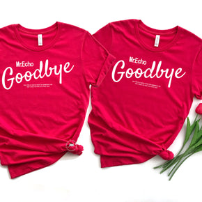 Valentine Shirt Mockup - Bella Canvas 3001 -  Red - T-Shirt Mockup - Apparel Photography - Flat lay 5