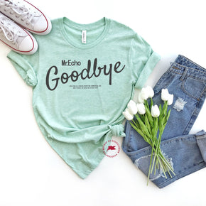 Shirt Mockup - Bella Canvas 3001 -  Heather Prism Mint - T-Shirt Mockup - Apparel Photography - Flat lay