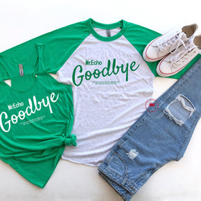 St patrick's day Shirt Mockup - Next Level - Baseball Raglan Tee - 6051 - Racerback Tank - 6733 Envy - Outfit Flat lay - Apparel Photography