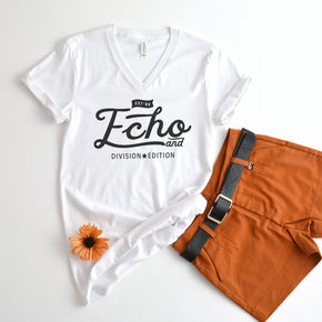 Shirt mockup - Shirt Mockup  -  Bella + Canvas - Unisex Short Sleeve V-Neck Jersey Tee - 3005 - Outfit Flat lay - Apparel Photography #1034