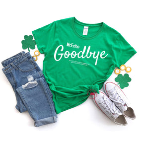 St Patrick's Day - Shirt Mockup -Gildan - Heavy Cotton T-Shirt - Irish Green - 5000L - flat lay - photography