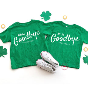 St.patrick day - Shirt Mockup - Rabbit Skins - Toddler Fine Jersey Tee - 3321 -Vintage Green T-Shirt Mockup - Apparel Photography