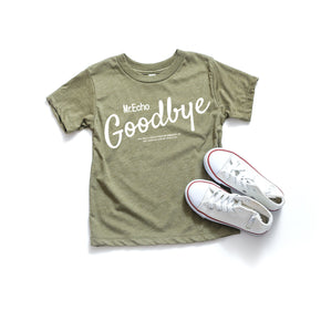 Shirt Mockup - Bella Canvas 3413T Olive Tri toddler T-Shirt Mockup - Apparel Photography - Flat lay 2