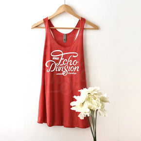 Tank top Mockup -Next Level - Women's Triblend Racerback Tank - 6733 Vintage Red -  Apparel photography #1372