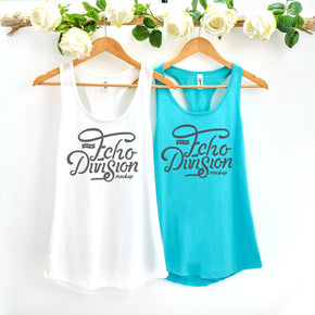 Couple Mockup  - Next level 1533 Tank top Mockup- Outfit Flat lay - Apparel Photography219