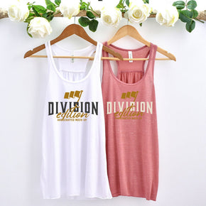 BACHELORETTE Tank Mockup  - Bella Canvas 8800 tank top - Outfit Flat lay - Apparel Photography119