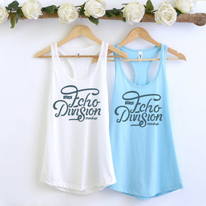Couple Mockup  - Next level 1533 White - Cancun  Tank top Mockup- Outfit Flat lay - Apparel Photography231
