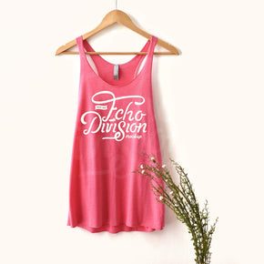 Tank top Mockup -Next Level - Women's Triblend Racerback Tank - 6733 Vintage Pink -  Apparel photography #1369