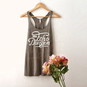 Tank top Mockup - Next Level - Venetian Grey - Women's Triblend Racerback Tank - 6733  -  Apparel photography #1087