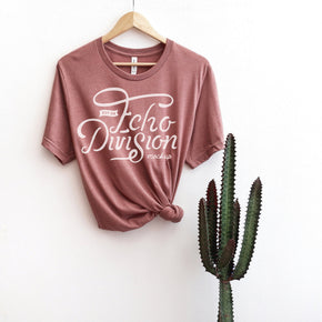 Shirt Mockup  - Bella Canvas 3001 Shirt - Heather Mauve - Hanging Shirt Mockup - Outfit Mockup - Apparel Photography #0680