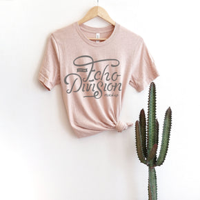 Shirt Mockup  - Bella Canvas 3001 Shirt - Heather Prism Peach - Hanging Shirt Mockup - Outfit Mockup - Apparel Photography #0700