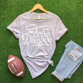 Shirt Mockup  - Bella Canvas 3001 T-Shirt -  Athletic Heather - Football Mockup Outfit Flat lay - Apparel Photography #0585