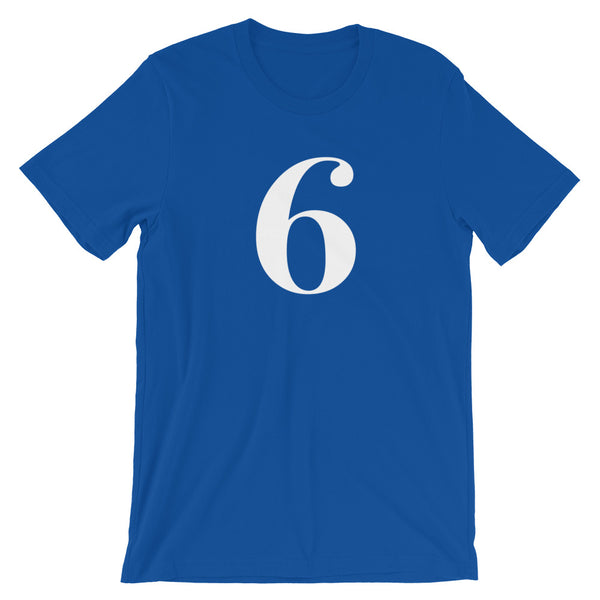 Number t-shirt '6'
