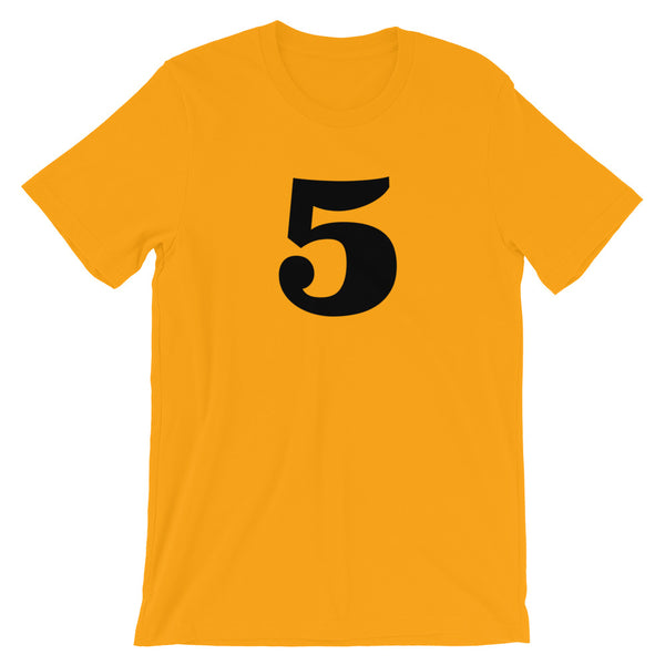 Number t-shirt '5'