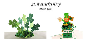 iGifts And Cards St. Patrick's Day front page promotion