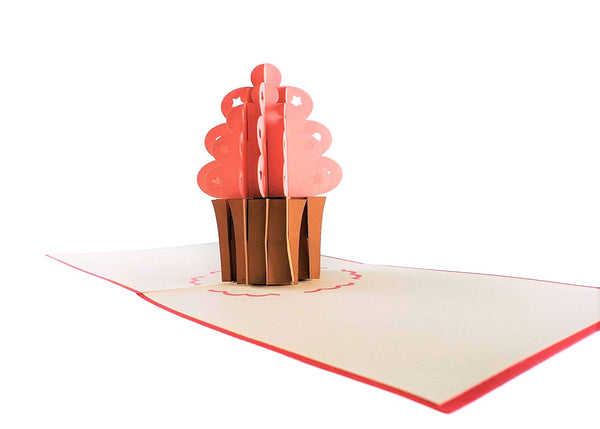 1st Birthday 3D Pop Up Greeting Card 6