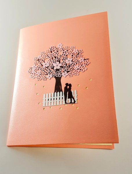 The lovers 3d pop up greeting card igifts and cards the lovers 3d pop up greeting card m4hsunfo