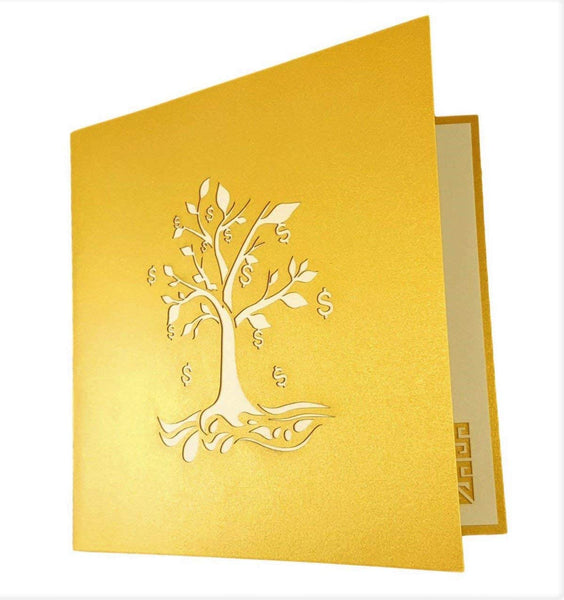 Money Tree 3D Pop Up Greeting Card 7